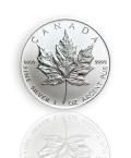 1 oz. Silber Maple Leaf
